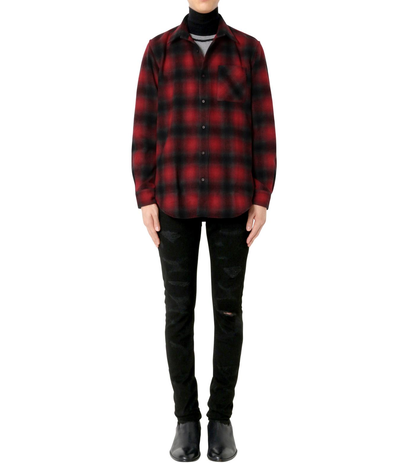 John Lawrence Sullivan(ジョン ローレンス サリバン)のCheck Shirt-RED(シャツ/shirt)-3B003-16-23-62 拡大詳細画像3