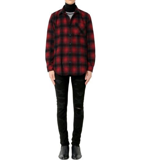 John Lawrence Sullivan(ジョン ローレンス サリバン)のCheck Shirt-RED(シャツ/shirt)-3B003-16-23-62 詳細画像3