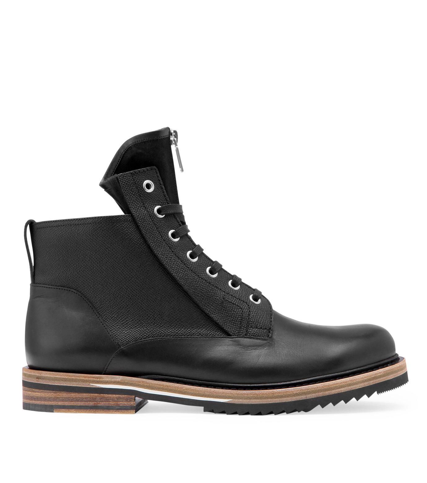 Dior Homme(ディオール オム)のCollection boots-BLACK-3BO080VDZ-13 拡大詳細画像1