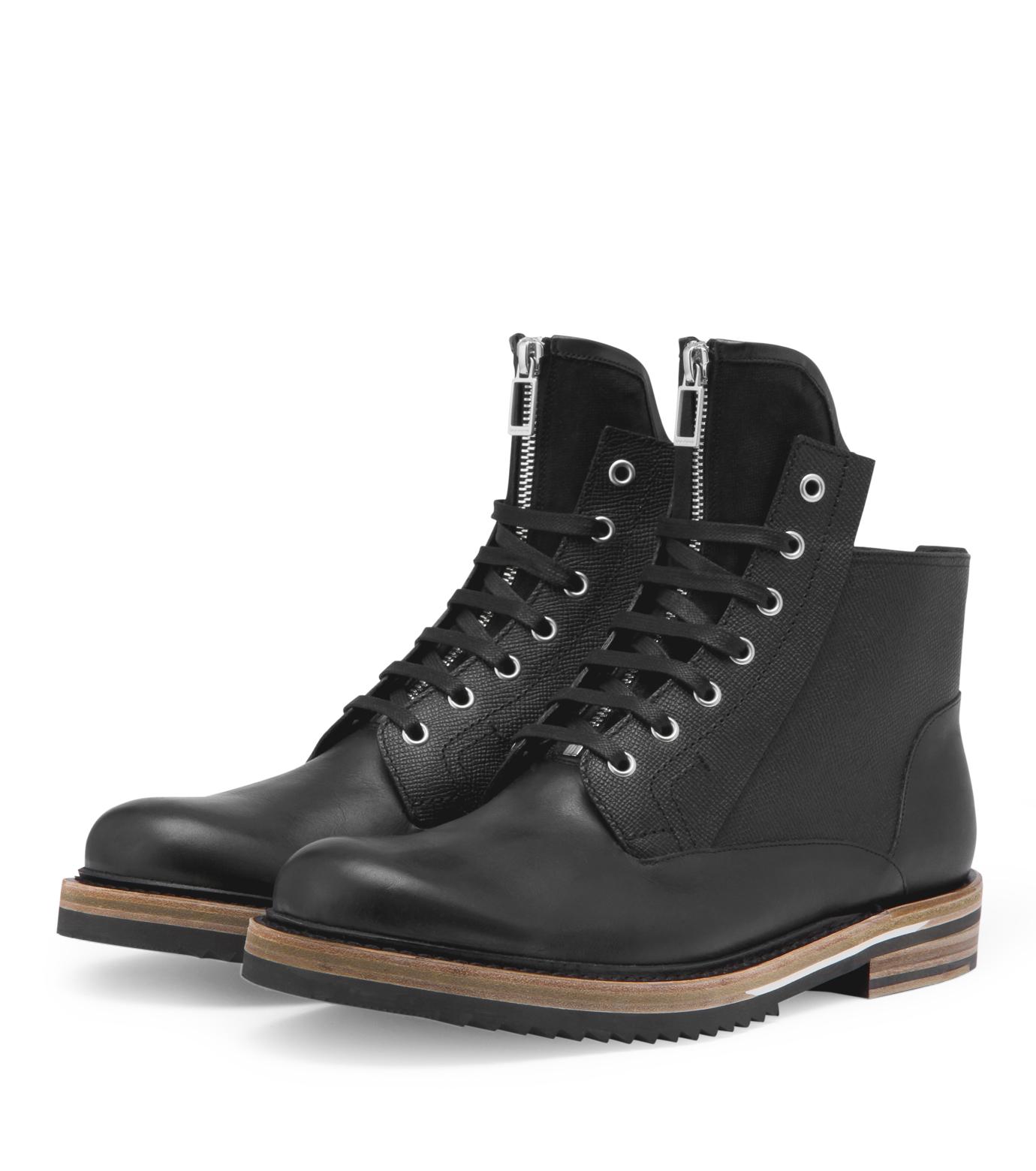 Dior Homme(ディオール オム)のCollection boots-BLACK-3BO080VDZ-13 拡大詳細画像4