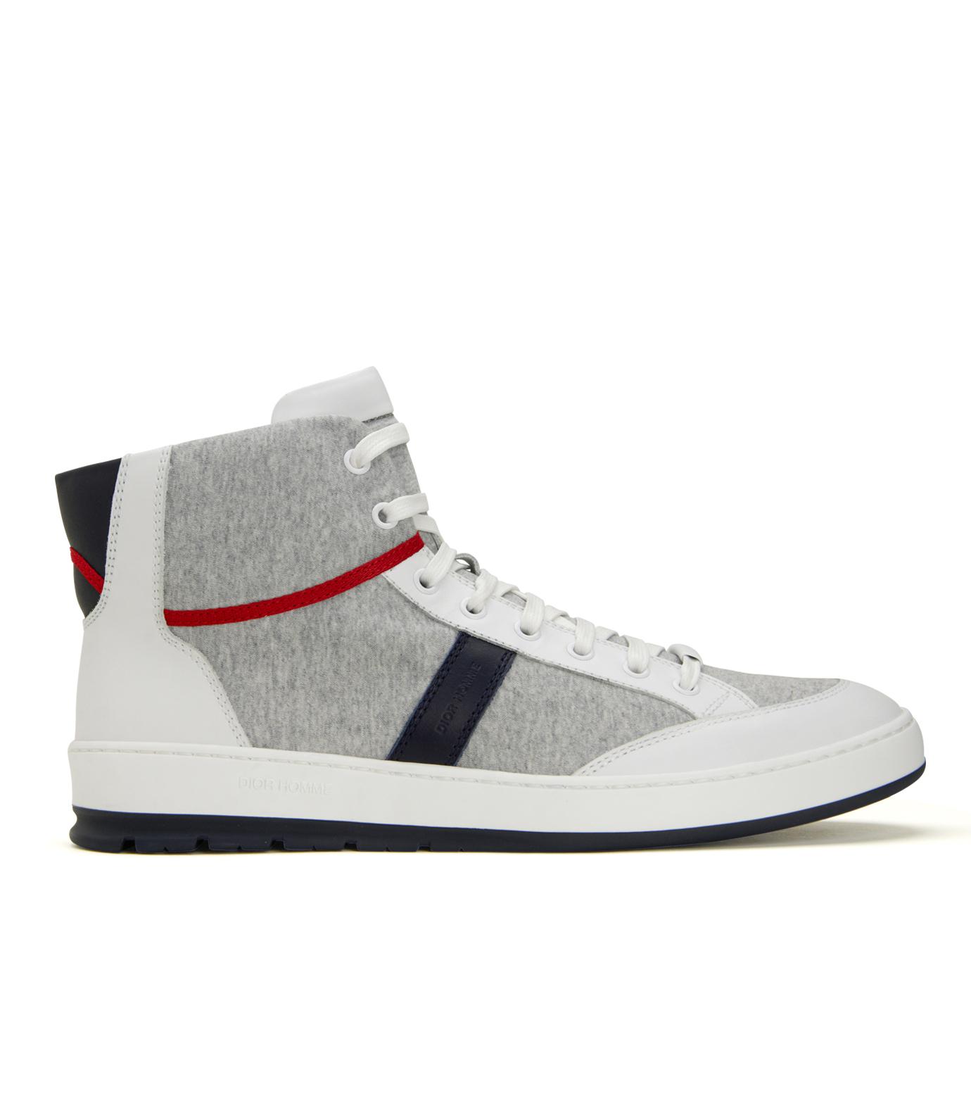 Dior Homme(ディオール オム)のSweat High Sneaker-WHITE-3SH007 拡大詳細画像1
