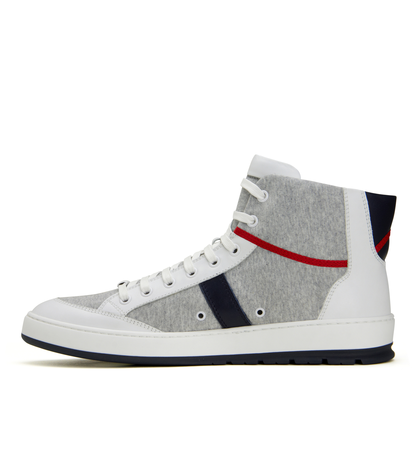 Dior Homme(ディオール オム)のSweat High Sneaker-WHITE-3SH007 拡大詳細画像2