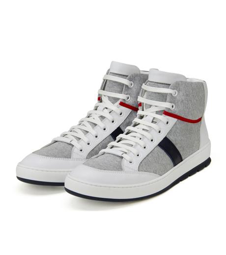 Dior Homme(ディオール オム)のSweat High Sneaker-WHITE-3SH007 詳細画像4