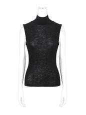 T by Alexander Wang Rib Turtleneck Tank