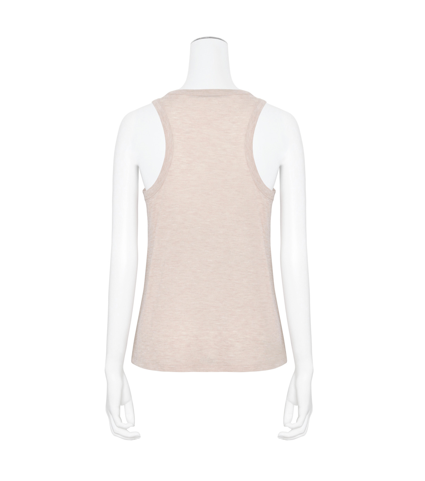 T by Alexander Wang(ティーバイ アレキサンダーワン)のJersey Tank w/Pkt-LIGHT PINK(カットソー/cut and sewn)-400128R17-71 拡大詳細画像2