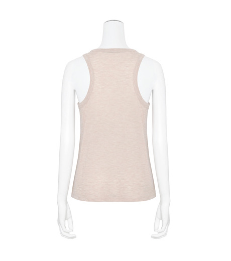 T by Alexander Wang(ティーバイ アレキサンダーワン)のJersey Tank w/Pkt-LIGHT PINK(カットソー/cut and sewn)-400128R17-71 詳細画像2