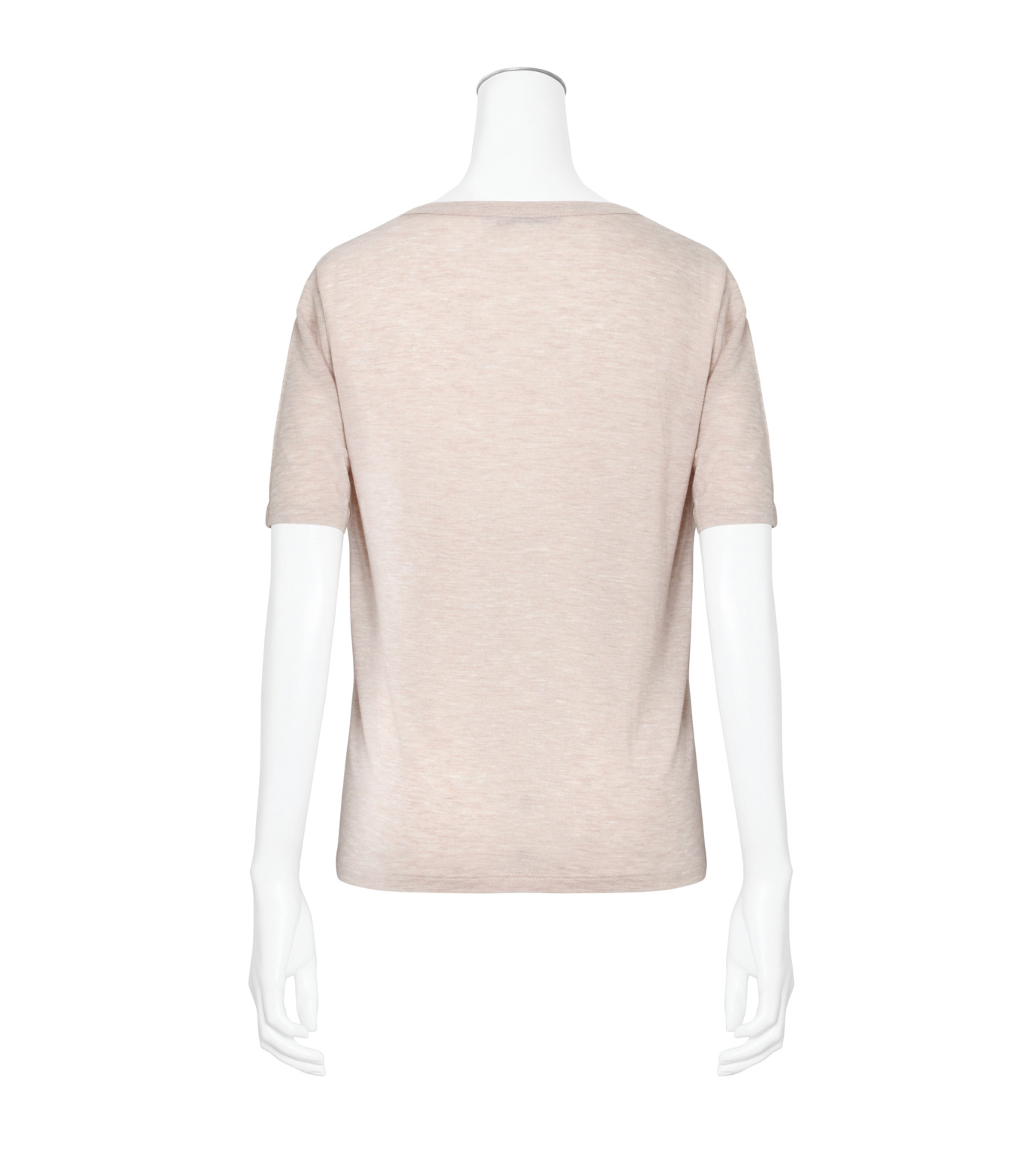 T by Alexander Wang(ティーバイ アレキサンダーワン)のCropped T w/Pkt-LIGHT PINK(カットソー/cut and sewn)-400203R17-71 拡大詳細画像2