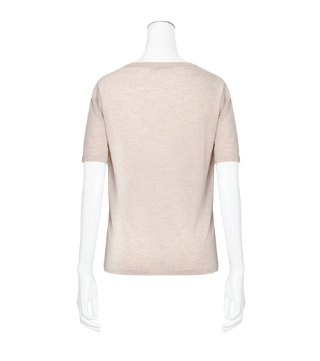 T by Alexander Wang(ティーバイ アレキサンダーワン)のCropped T w/Pkt-LIGHT PINK(カットソー/cut and sewn)-400203R17-71 詳細画像2