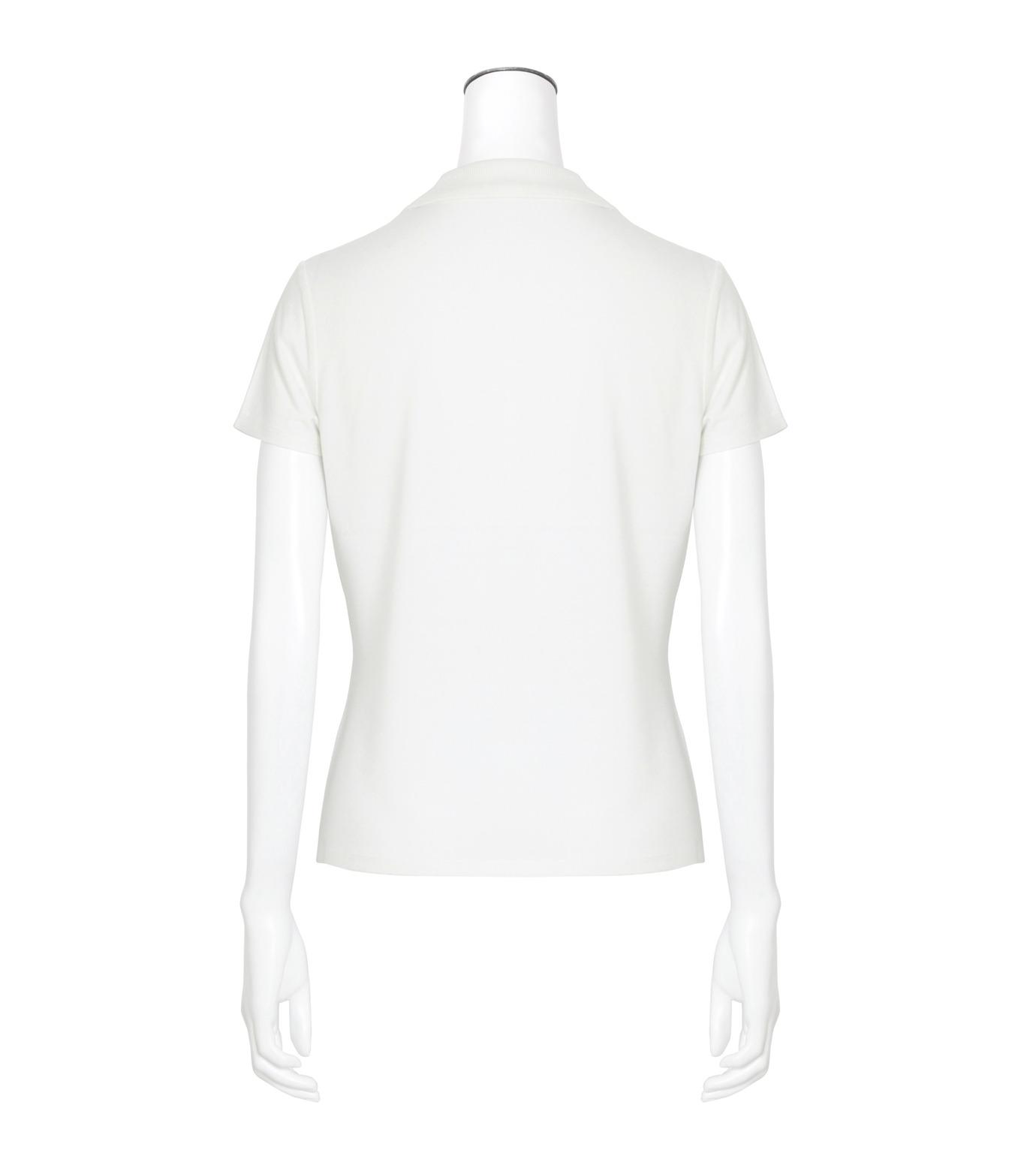 T by Alexander Wang(ティーバイ アレキサンダーワン)のSS Polo Tee-WHITE(カットソー/cut and sewn)-400204R17-5 拡大詳細画像2