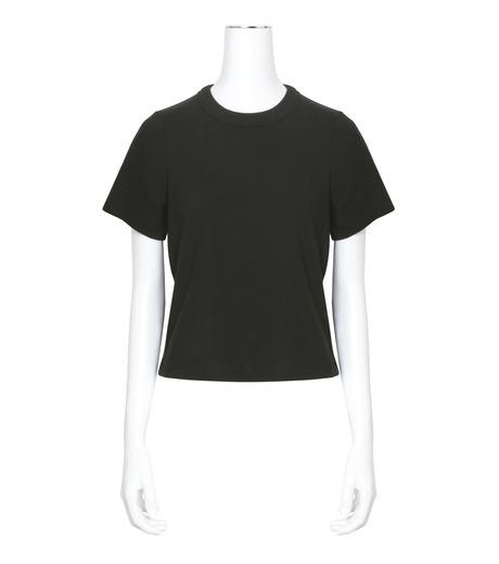 T by Alexander Wang(ティーバイ アレキサンダーワン)のHigh Twist Boy T-BLACK(カットソー/cut and sewn)-400221R17-13 詳細画像1