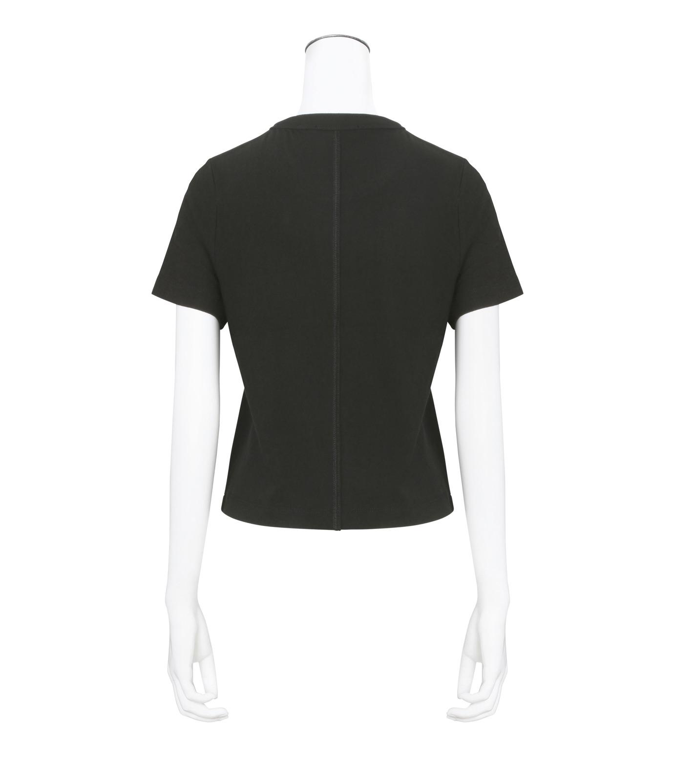 T by Alexander Wang(ティーバイ アレキサンダーワン)のHigh Twist Boy T-BLACK(カットソー/cut and sewn)-400221R17-13 拡大詳細画像2