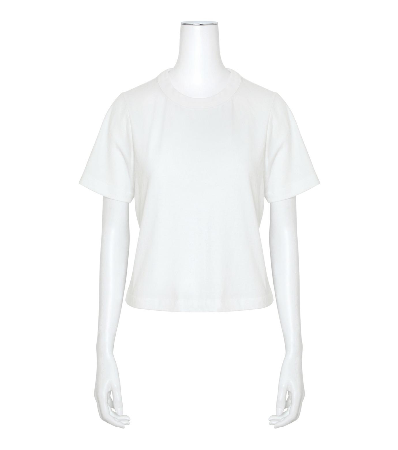 T by Alexander Wang(ティーバイ アレキサンダーワン)のHigh Twist Boy T-WHITE(カットソー/cut and sewn)-400221R17-4 拡大詳細画像1