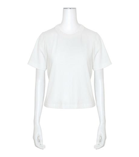 T by Alexander Wang(ティーバイ アレキサンダーワン)のHigh Twist Boy T-WHITE(カットソー/cut and sewn)-400221R17-4 詳細画像1