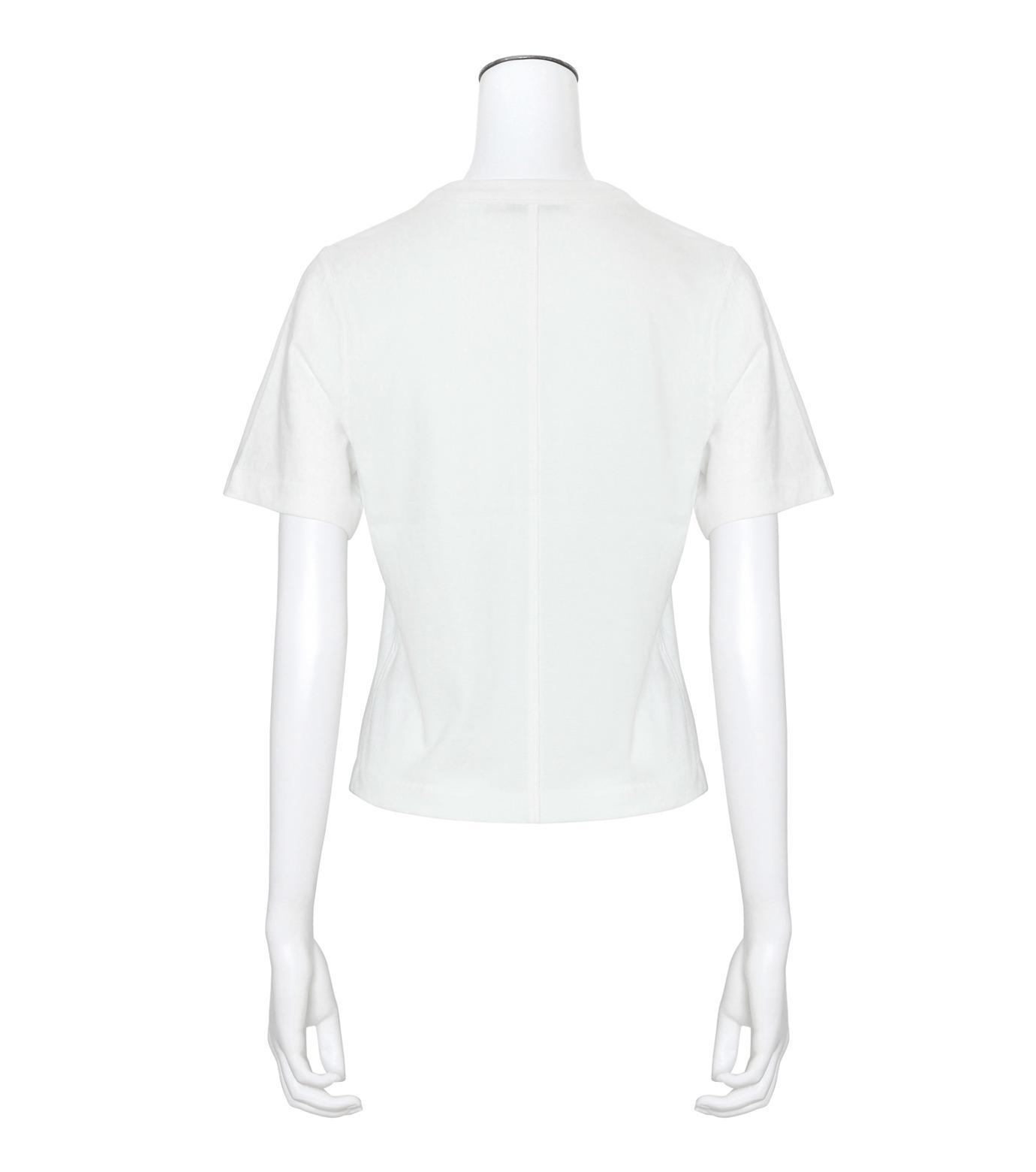 T by Alexander Wang(ティーバイ アレキサンダーワン)のHigh Twist Boy T-WHITE(カットソー/cut and sewn)-400221R17-4 拡大詳細画像2