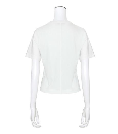 T by Alexander Wang(ティーバイ アレキサンダーワン)のHigh Twist Boy T-WHITE(カットソー/cut and sewn)-400221R17-4 詳細画像2