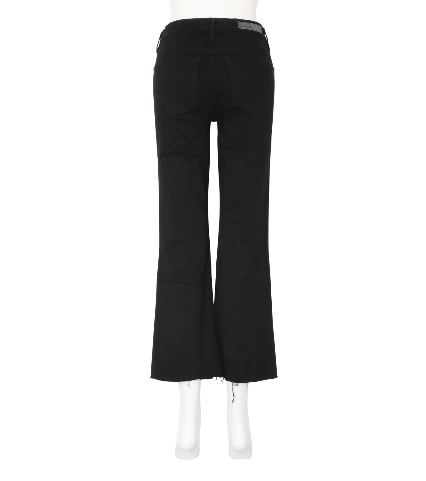 GRLFRND()のCrop Flare w/Comfort Stretch-BLACK(デニム/denim)-4010WH-03-13 拡大詳細画像2