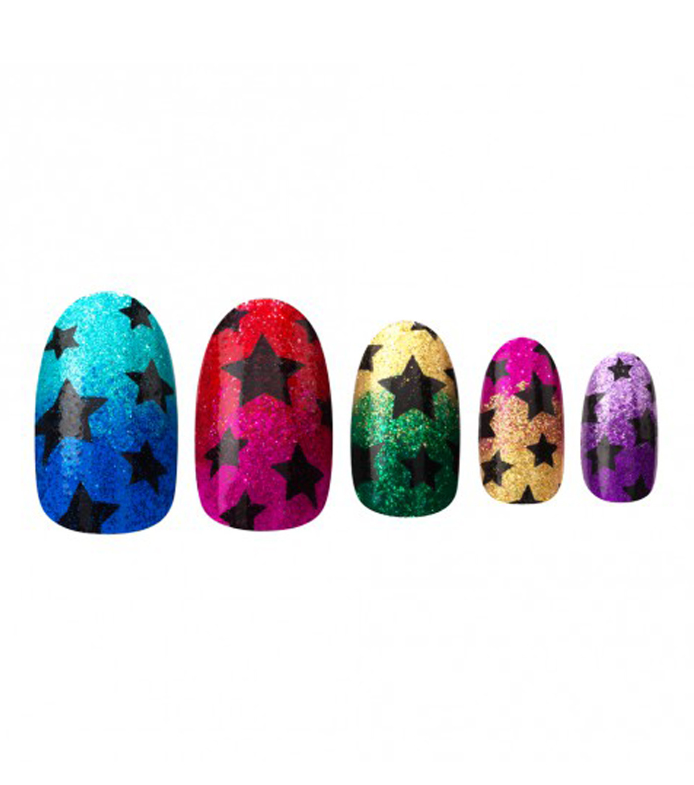 House of Holland(ハウス オブ ホーランド)のGlitter Stars-MULTI COLOUR(MAKE-UP/MAKE-UP)-4016258-9 拡大詳細画像3