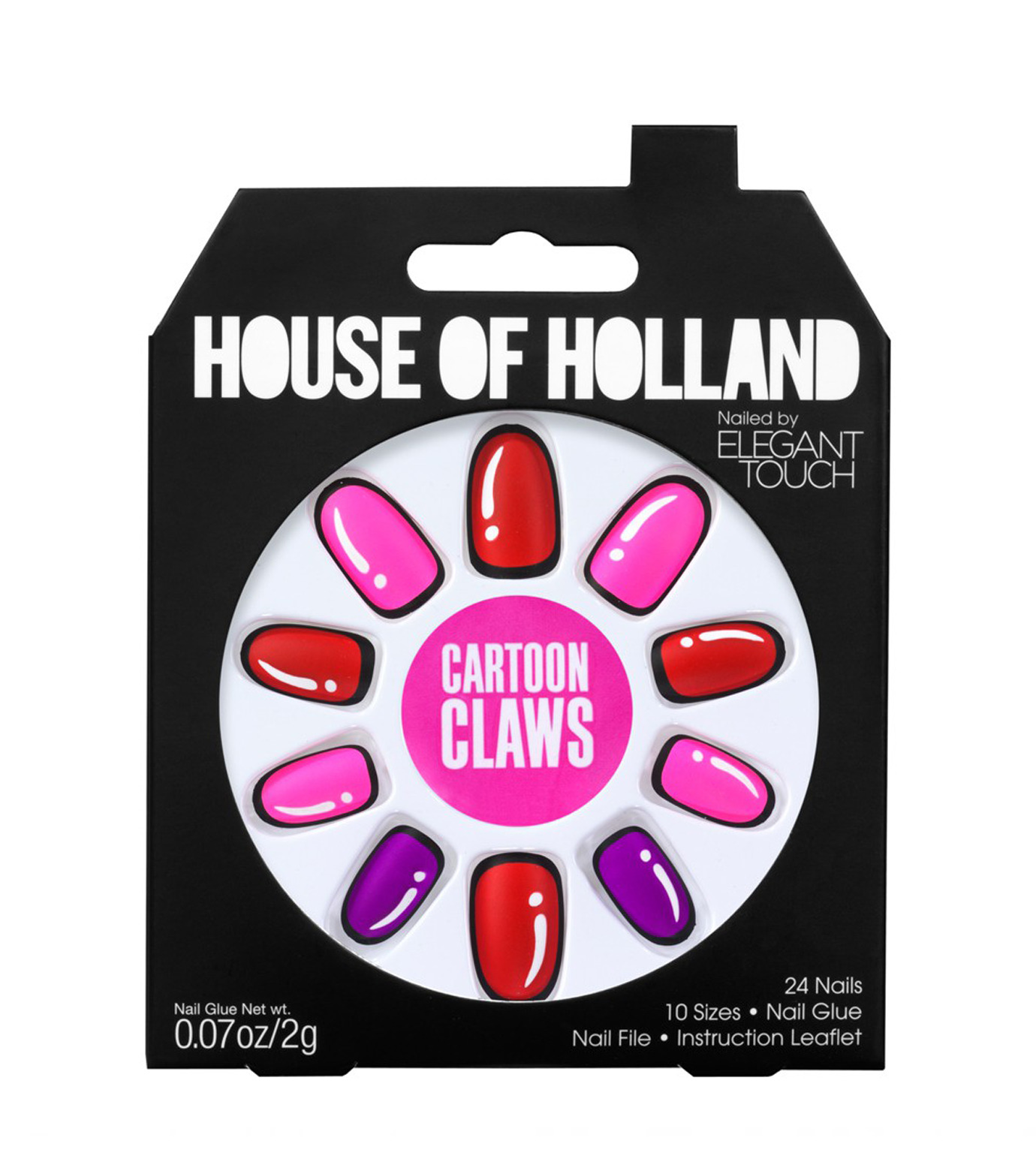 House of Holland(ハウス オブ ホーランド)のCartoon Claws-MULTI COLOUR(MAKE-UP/MAKE-UP)-4016260-9 拡大詳細画像2