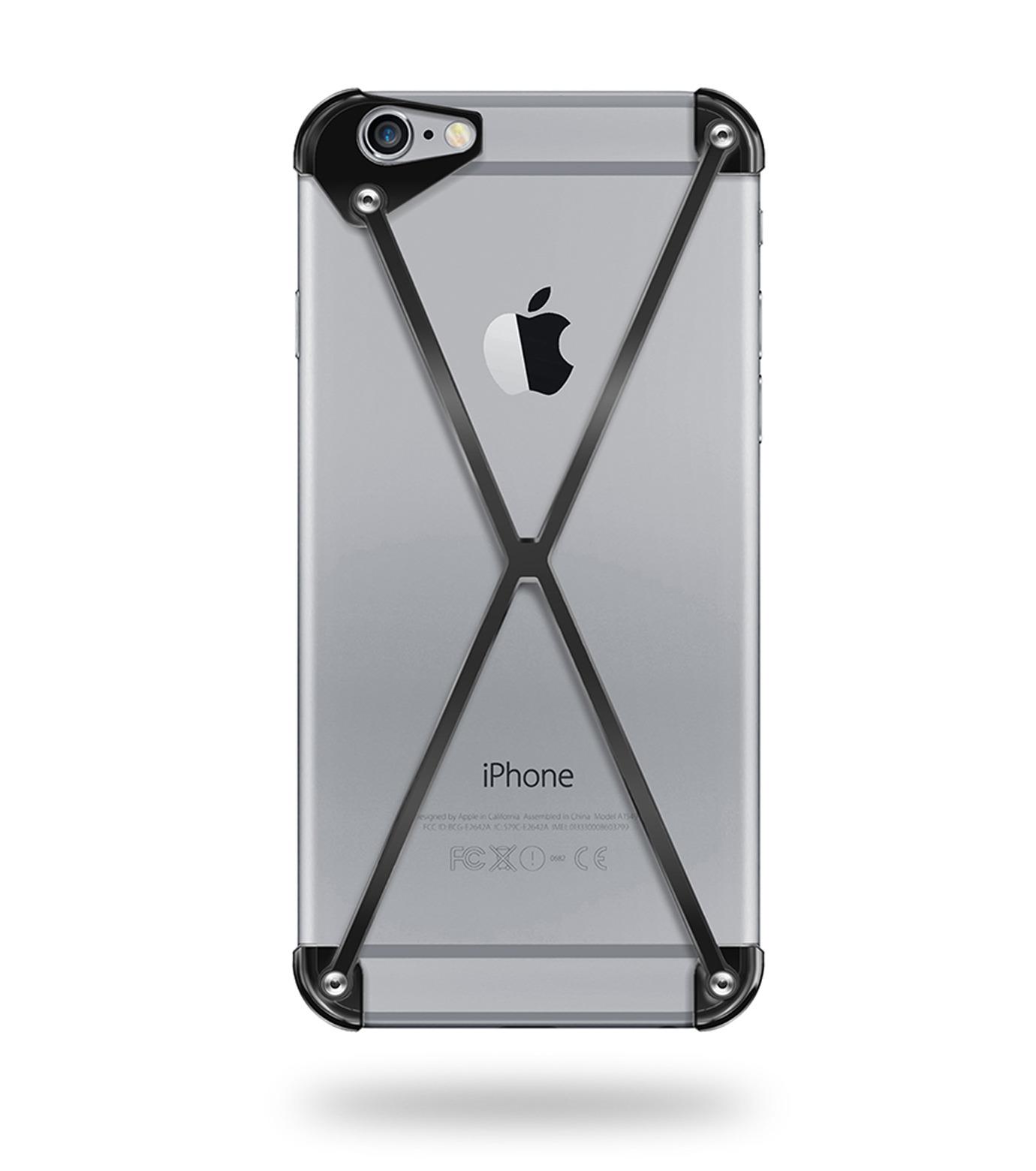 RADIUS(ラディウス)のRADIUS 6 PLUS All Slate-BLACK(ケースiphone6plus/6splus/case iphone6plus/6splus)-402202-AS-13 拡大詳細画像1