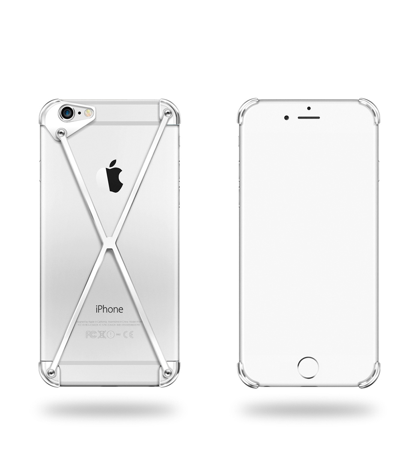 RADIUS(ラディウス)のRADIUS 6sAll Polish-SILVER(ケースiphone6/6s/case iphone6/6s)-402301-AP-1 拡大詳細画像1