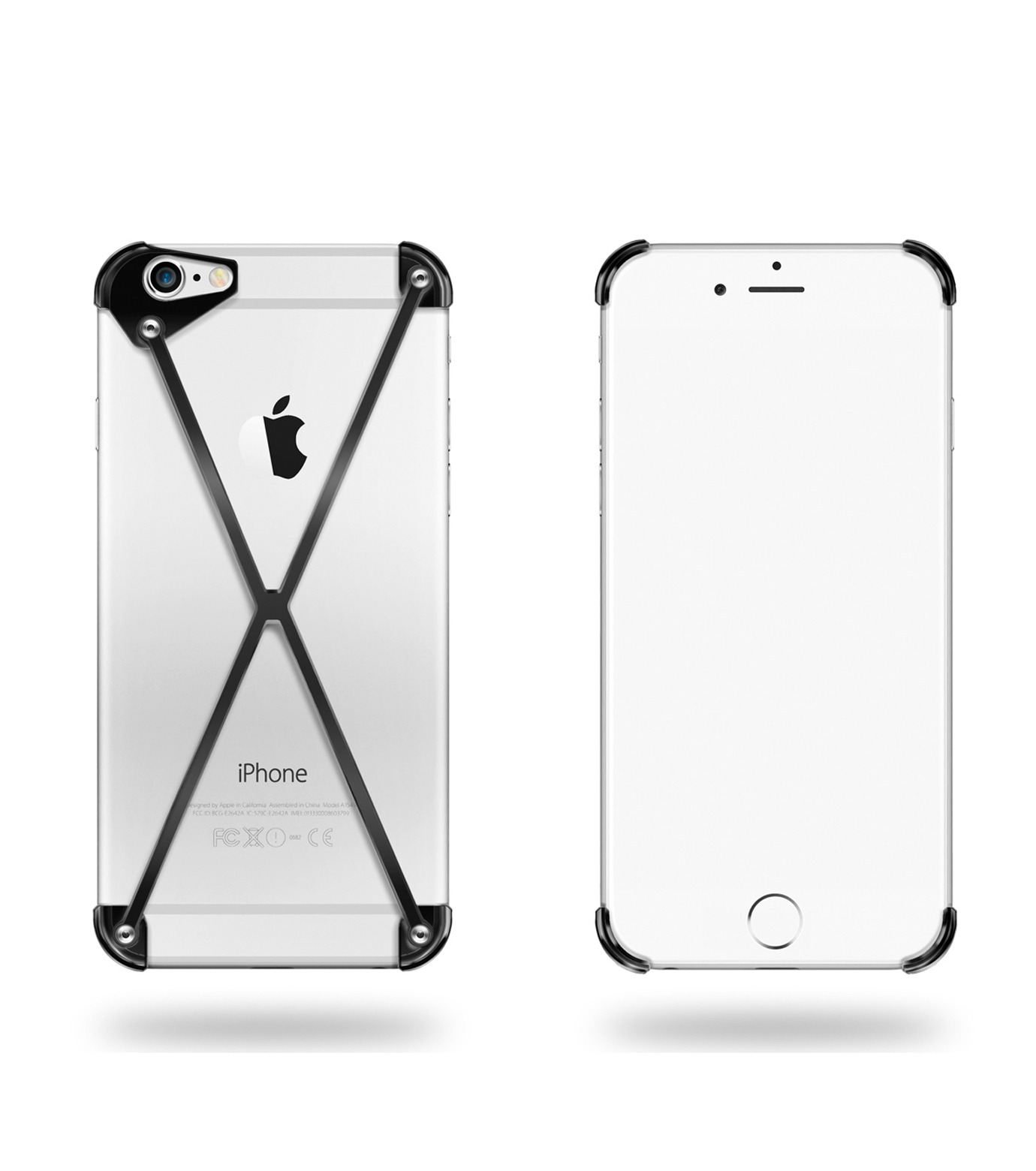 RADIUS(ラディウス)のRADIUS 6s ALL Slate X-BLACK(ケースiphone6/6s/case iphone6/6s)-402302-AS-13 拡大詳細画像1