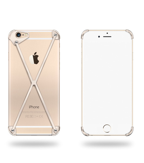 RADIUS(ラディウス)のRADIUS 6s ALL GOLD X-GOLD(ケースiphone6/6s/case iphone6/6s)-402303-GD-2 詳細画像1