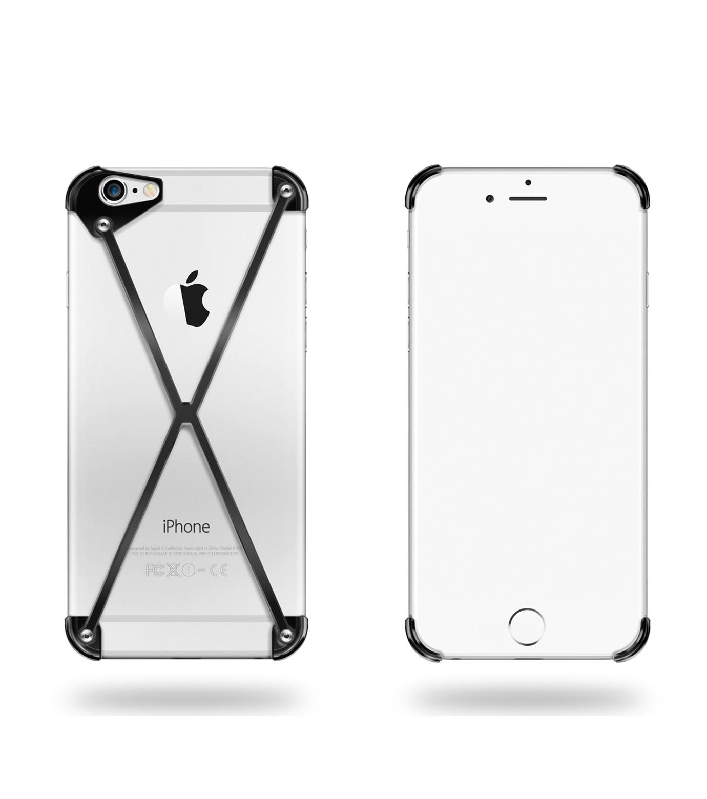 RADIUS(ラディウス)のRADIUS 6s PLUS All SlateX-BLACK(ケースiphone6plus/6splus/case iphone6plus/6splus)-402402-AS-13 拡大詳細画像1
