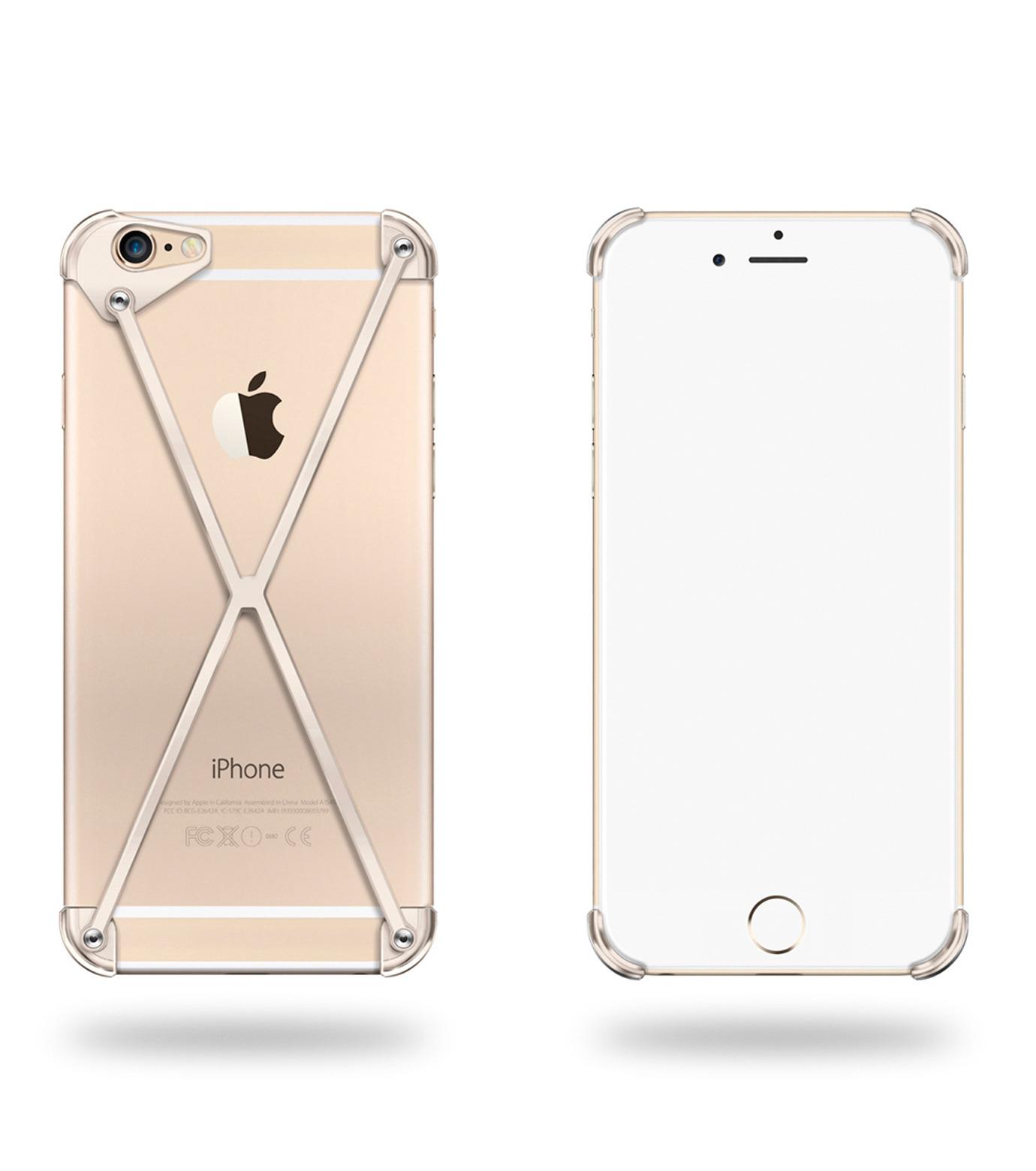 RADIUS(ラディウス)のRADIUS 6s PLUS Gold-GOLD(ケースiphone6plus/6splus/case iphone6plus/6splus)-402403-GD-2 拡大詳細画像1