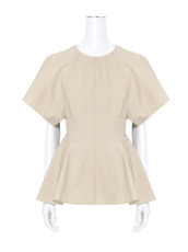 T by Alexander Wang SS Peplum Top