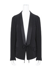 T by Alexander Wang Front Tie Tux Blazer
