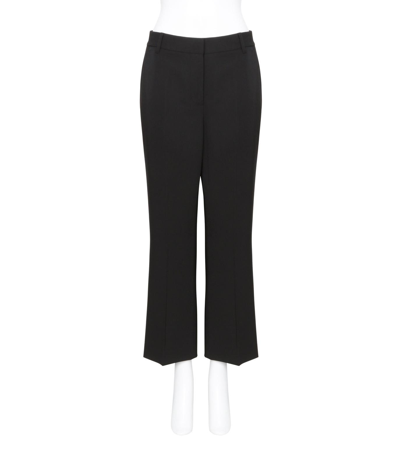 T by Alexander Wang(ティーバイ アレキサンダーワン)のFront Pleat Crop Trousers-BLACK(パンツ/pants)-403714R17-13 拡大詳細画像1