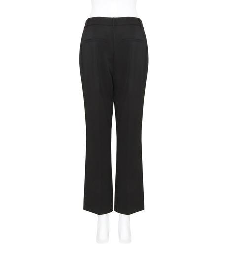 T by Alexander Wang(ティーバイ アレキサンダーワン)のFront Pleat Crop Trousers-BLACK(パンツ/pants)-403714R17-13 詳細画像2