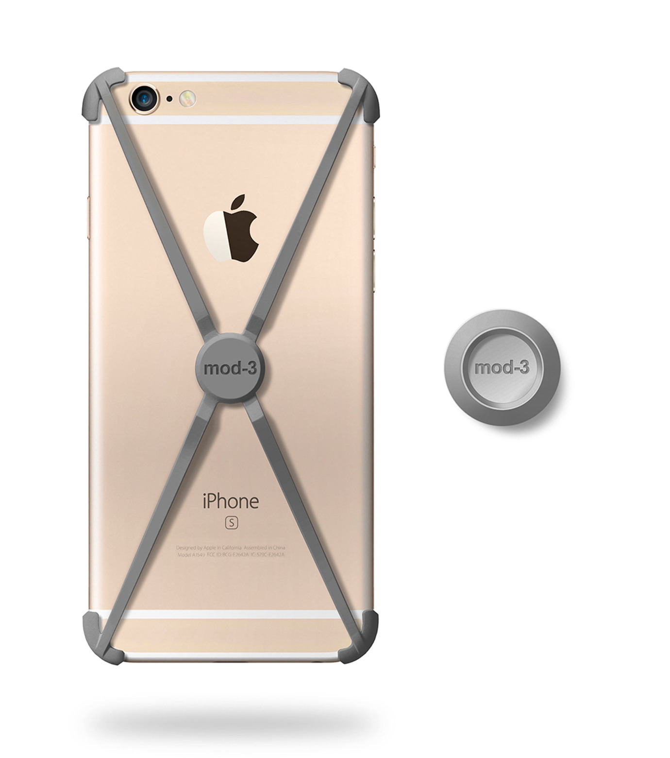 ALT case(アルトケース)のALT case for iPhone 6/6S-GRAY(ケースiphone6/6s/case iphone6/6s)-404101GR-11 拡大詳細画像1