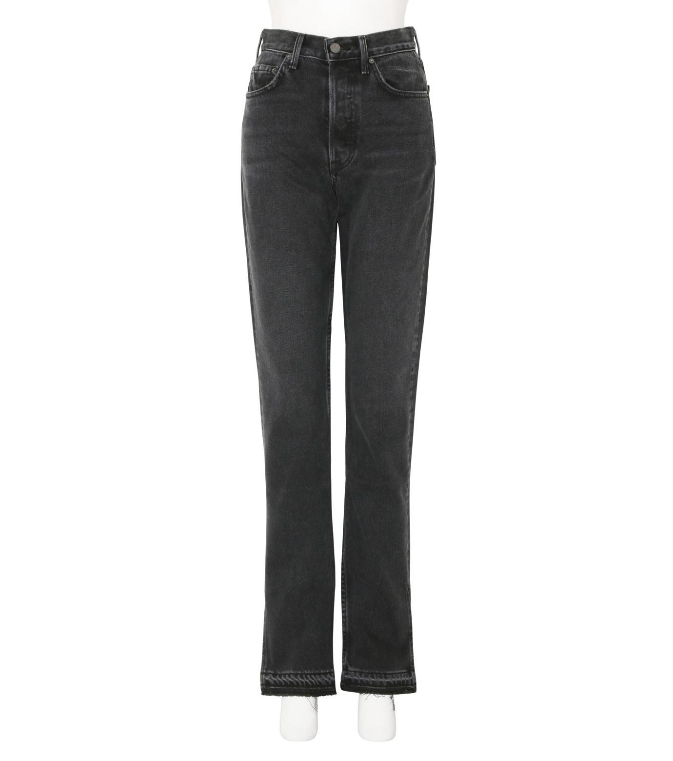 GRLFRND()のHigh-rise Skinny Split Outseam-CHARCHOL GRAY(デニム/denim)-4041WH-03-12 拡大詳細画像1