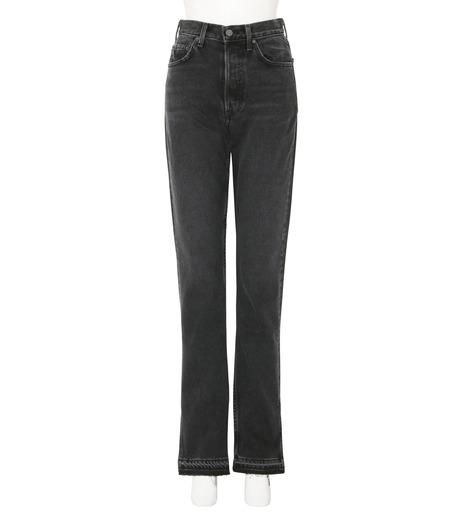 GRLFRND()のHigh-rise Skinny Split Outseam-CHARCHOL GRAY(デニム/denim)-4041WH-03-12 詳細画像1