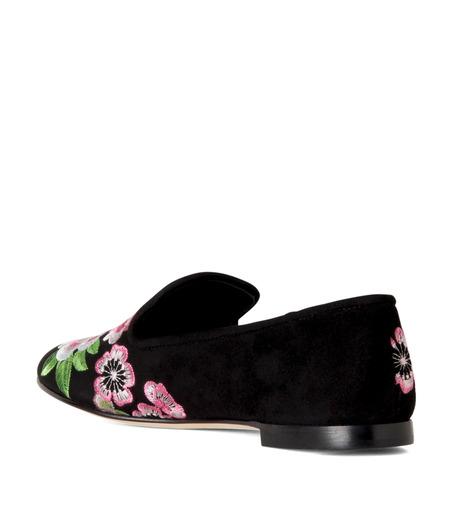 Giuseppe Zanotti Design(ジュゼッペザノッティ)のFlower Embro Opera Shoes-BLACK(シューズ/shoes)-41-6187CA005-13 詳細画像2