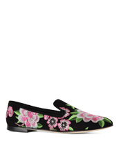 Giuseppe Zanotti Design Flower Embro Opera Shoes