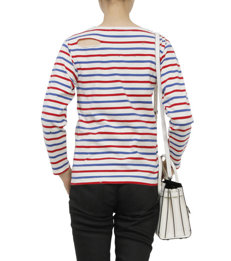 SAINT LAURENT(サンローラン)のmarine tee used-MULTI COLOUR(カットソー/cut and sewn)-416521-Y2XR2-9 詳細画像2