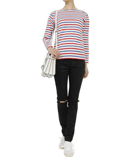 SAINT LAURENT(サンローラン)のmarine tee used-MULTI COLOUR(カットソー/cut and sewn)-416521-Y2XR2-9 詳細画像3