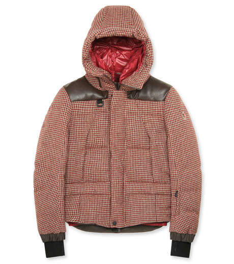 Moncler Grenoble(モンクレールグルノーブル)のCheck down-RED-41911-85-62 詳細画像1