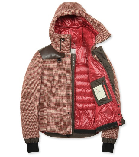 Moncler Grenoble(モンクレールグルノーブル)のCheck down-RED-41911-85-62 詳細画像2