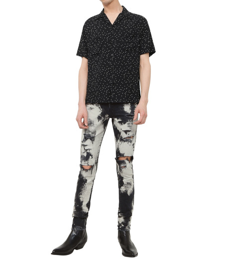 SAINT LAURENT(サンローラン)のChemical Wash Denim-BLACK(デニム/denim)-419412-13 詳細画像3