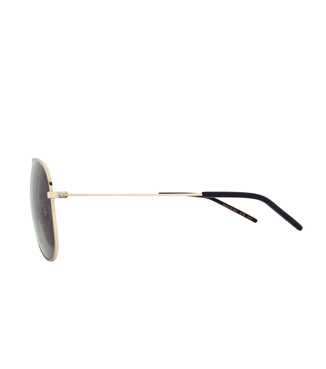 SAINT LAURENT(サンローラン)のTeardrop-GOLD(アイウェア/eyewear)-419695-Y9910-2 拡大詳細画像2