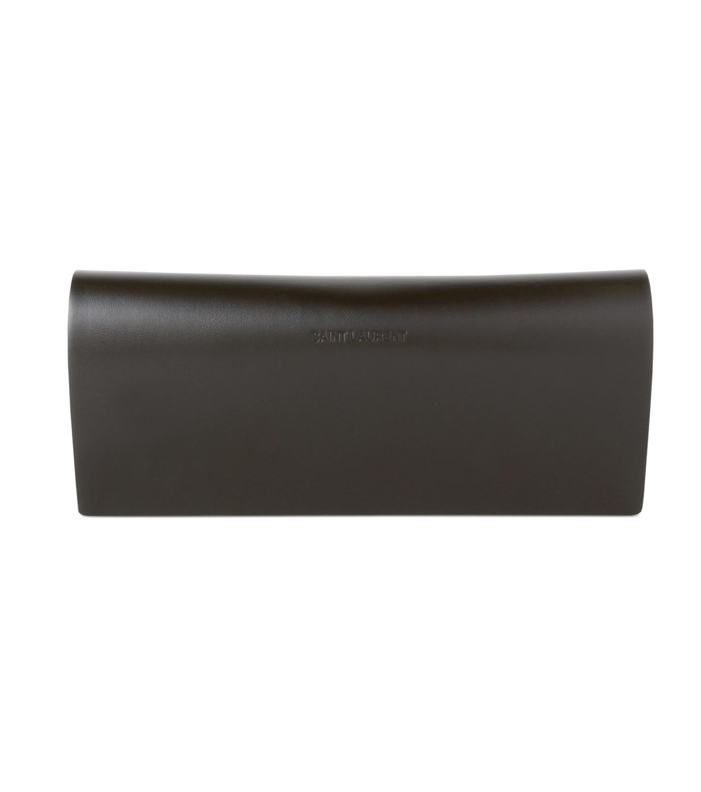 SAINT LAURENT(サンローラン)のTeardrop-GOLD(アイウェア/eyewear)-419695-Y9910-2 拡大詳細画像4