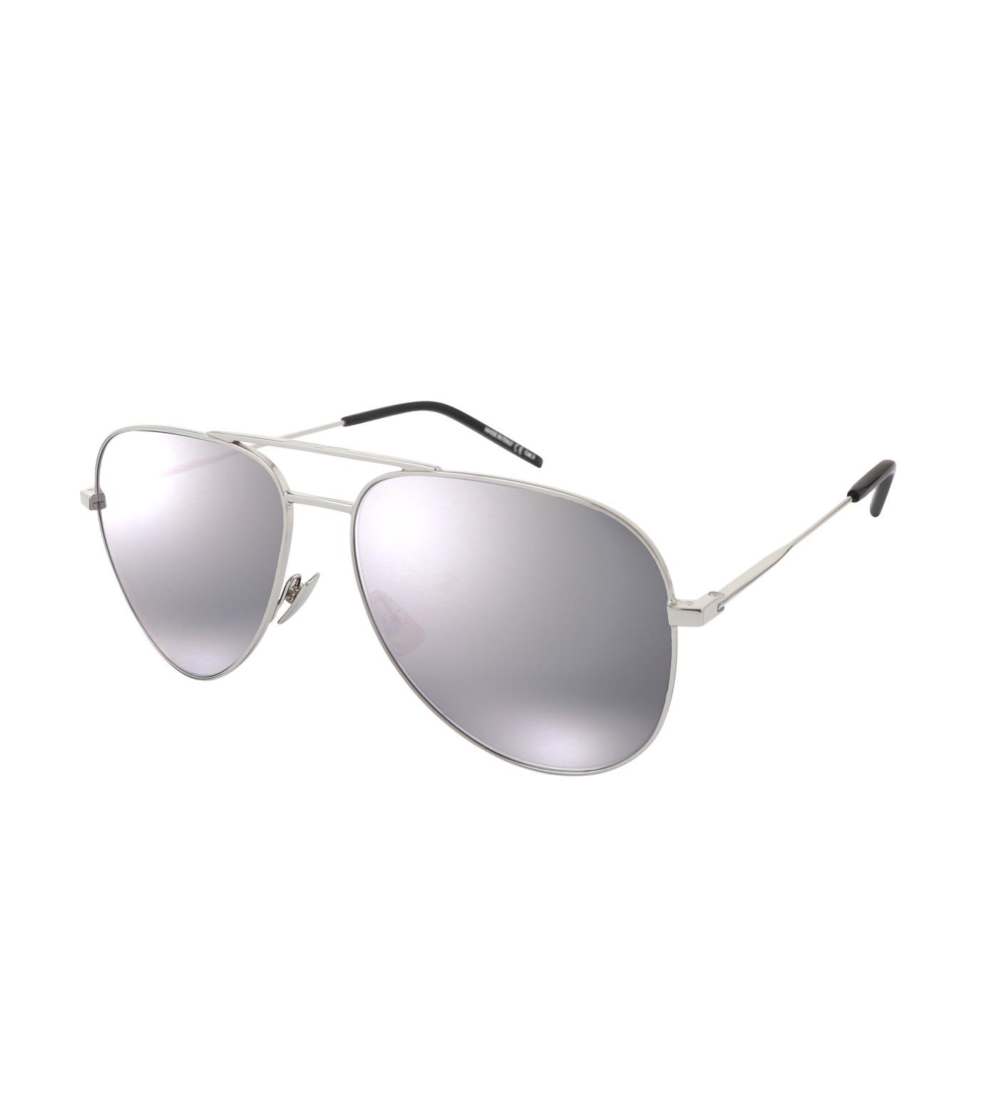 SAINT LAURENT(サンローラン)のClassic 11 Mens Teardrop-SILVER(アイウェア/eyewear)-419696-1 拡大詳細画像1