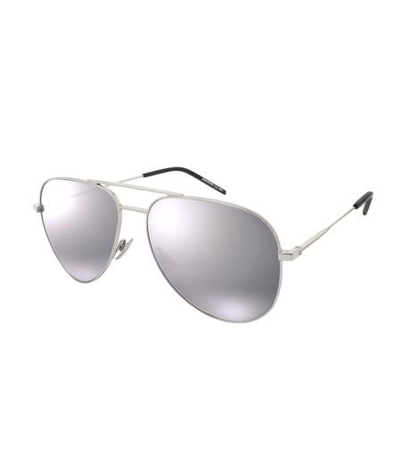 SAINT LAURENT(サンローラン)のClassic 11 Mens Teardrop-SILVER(アイウェア/eyewear)-419696-1 詳細画像1