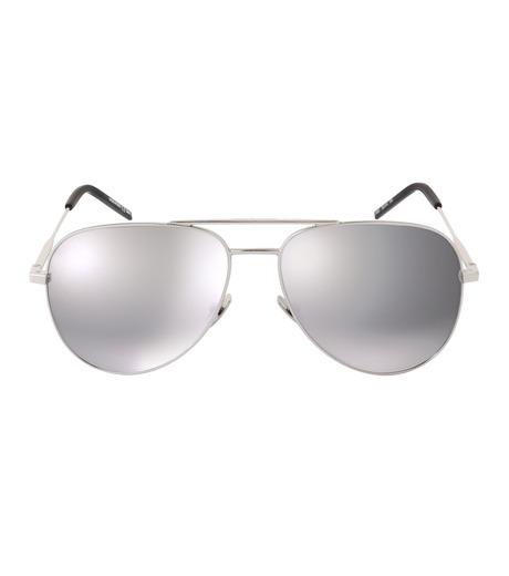SAINT LAURENT(サンローラン)のClassic 11 Mens Teardrop-SILVER(アイウェア/eyewear)-419696-1 詳細画像3