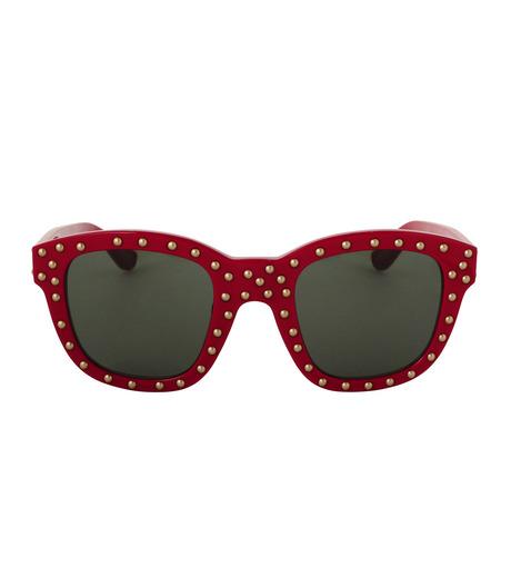 SAINT LAURENT(サンローラン)のSL 100 Lou Studded-RED(アイウェア/eyewear)-420137-62 詳細画像3