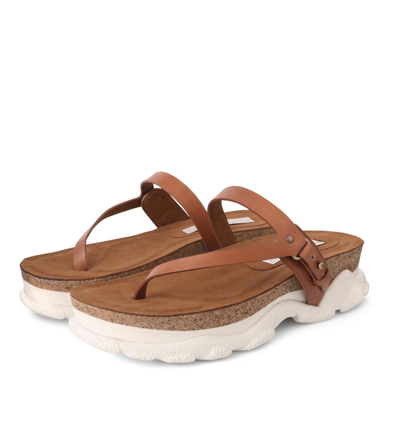 Stella McCartney(ステラマッカートニー)のSneaker Sandal-BROWN(シューズ/shoes)-423387-W0MW0-42 拡大詳細画像3