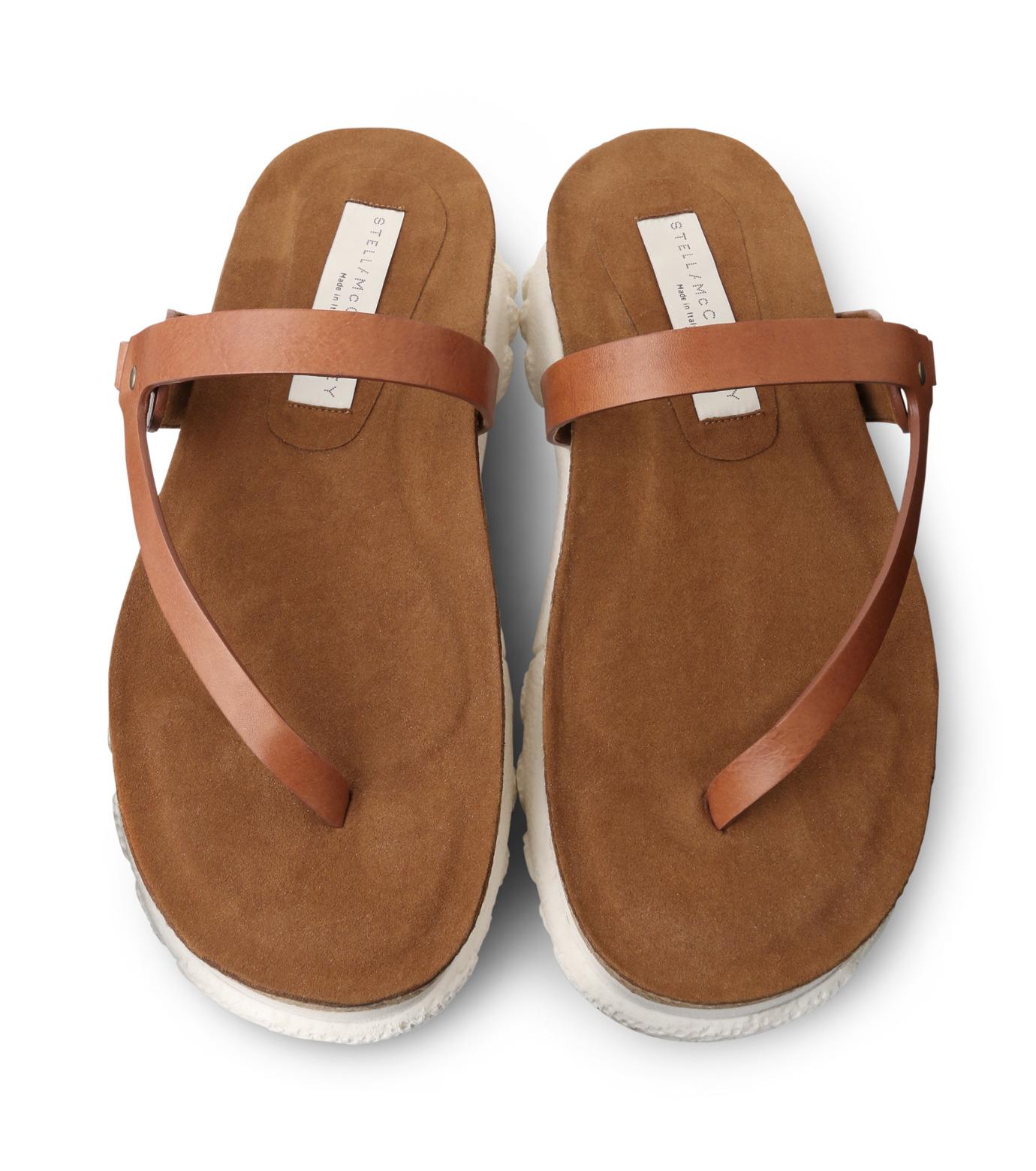 Stella McCartney(ステラマッカートニー)のSneaker Sandal-BROWN(シューズ/shoes)-423387-W0MW0-42 拡大詳細画像4